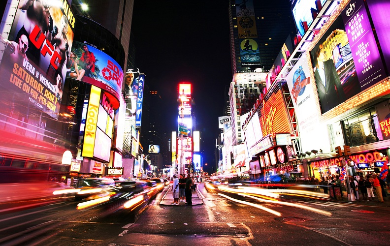 Tripps Travel Network Attractions in Times Square in Manhattan