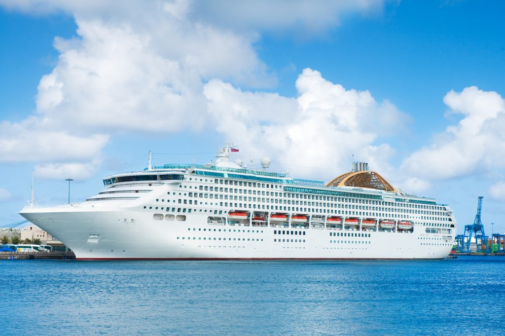 Elegant cruise ship by Tripps Travel Network